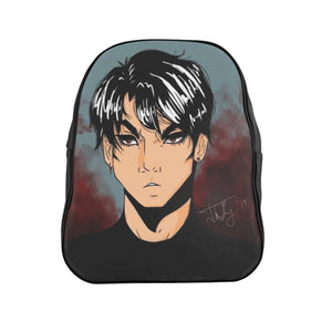 "Torrick - ""brooding boi"" - School Backpack"