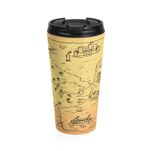 TCoE - Trindavin Map - Stainless Steel Travel Mug