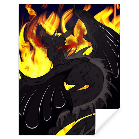 "Dragon Torrick - ""Flame"" - Gift Wrap"
