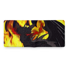 "Load image into Gallery viewer, TCoE - Dragon Torrick - ""Flame"" - Men's Personalized Wallet"