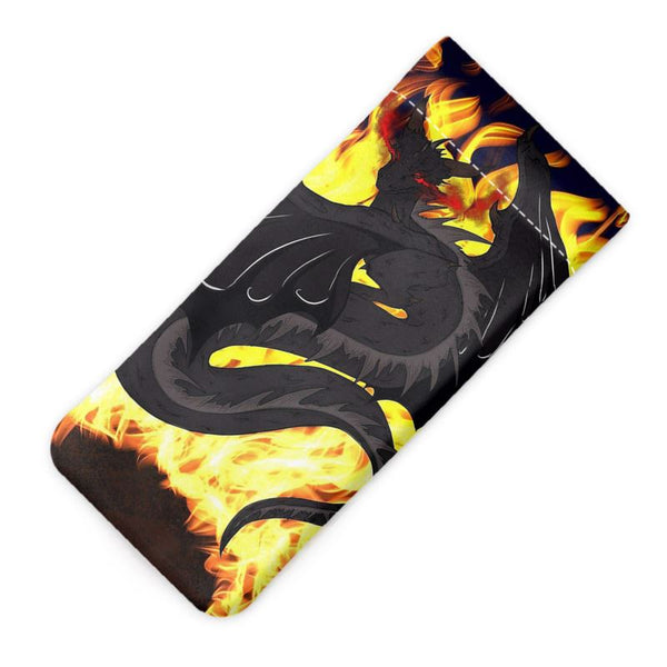 "Dragon Torrick - ""Flame"" - Glasses Case Pouch"