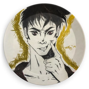"Torrick - (""smile"", ""brooding boi"", ""what's wrong, Torrick?"") - Party Plates"