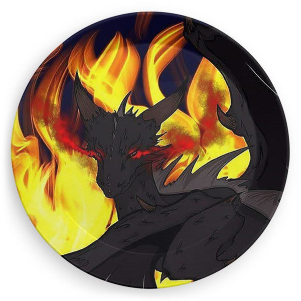 "Dragon Torrick - ""Flame"" - Party Plates"