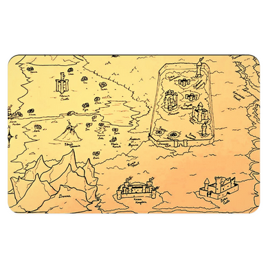 TCoE - Trindavin Map - South - Pet Placemats