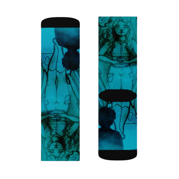 "TSoaGA -""Dark Angel Cythia ~ The Mist"" - Sublimation Socks"