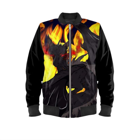 "Dragon Torrick - ""Flame"" - Men's Bomber Jacket"