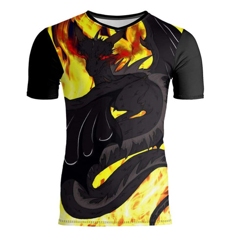 "Dragon Torrick - ""Flame"" - Slim Fit Mens T-Shirt"