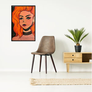 "Cythia - ""Fire"" - Framed Art Prints"