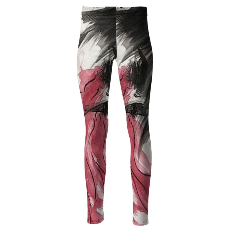 "Torrick - ""wishful thinking"" - High Waisted Leggings"