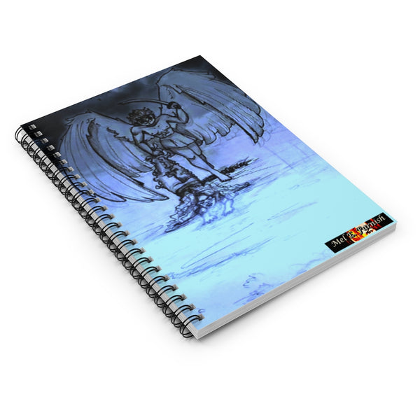 "TSoaGA - Cythia - ""Into the Abyss"" - Spiral Notebook - Ruled Line"