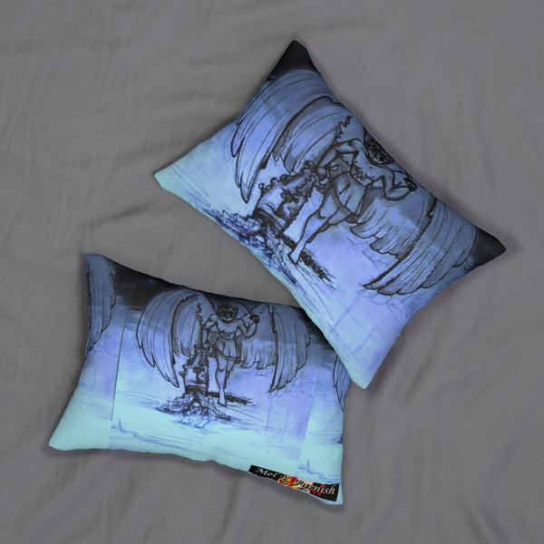"TSoaGA - Cythia - ""Into the Abyss"" - Spun Polyester Lumbar Pillow"