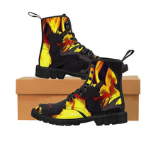 "Load image into Gallery viewer, Dragon Torrick - ""Flame"" - Men's Canvas Boots"