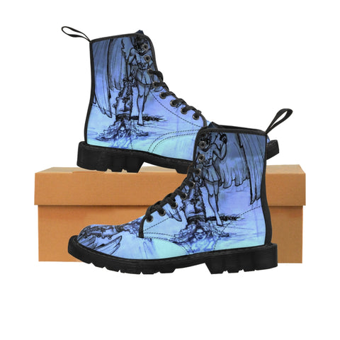 "TSoaGA - Cythia - ""Into the Abyss"" - Ladies Canvas Boots"
