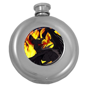 "Dragon Torrick - ""Flame"" - Hip Flask (5 oz)"