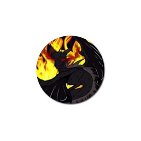 "Dragon Torrick - ""Flame"" - Golf Ball Marker (10 pack)"