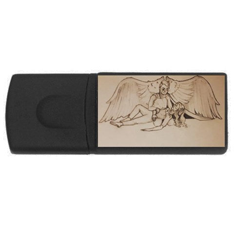 "TCoE - ""Live and Let Die"" - USB Flash Drive Rectangular (4 GB)"