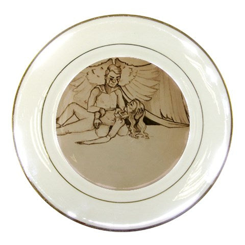"TCoE - ""Live and Let Die"" - Porcelain Plate"