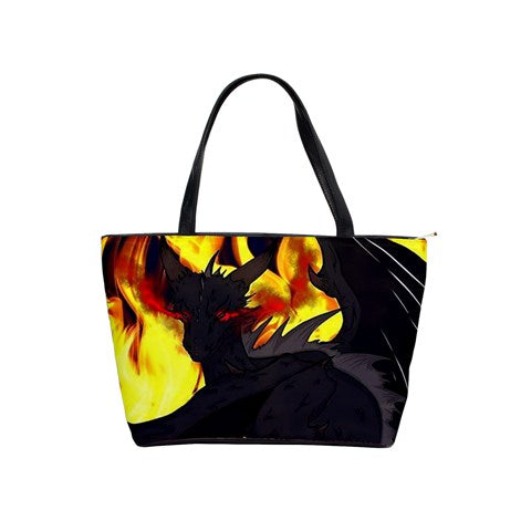 "Dragon Torrick - ""Flame"" - Classic Shoulder Handbag"