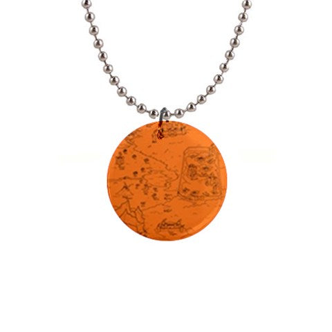"TCoE - Trindavin Map 'parchment' - 1"" Button Necklace"