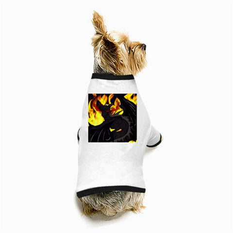 "Dragon Torrick - ""Flame"" - Dog T-Shirt"
