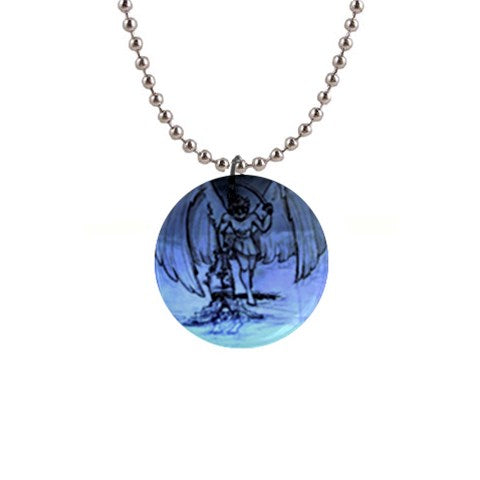 "TSoaGa - Cythia - ""Into The Abyss"" - 1"" Button Necklace"