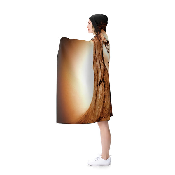 Wistria - Hooded Blanket