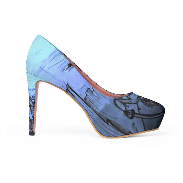 "TSoaGA - Cythia - ""Into the Abyss"" - Ladies Platform Heels"