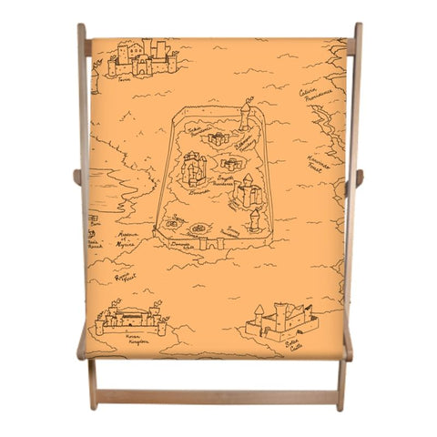TCoE - Trindavin Map 'parchment' East - Double Deckchair