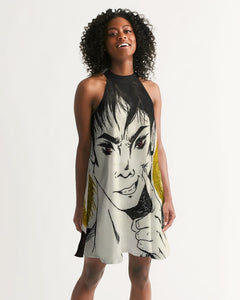 "Torrick - ""smile"" - Ladies Halter Dress"