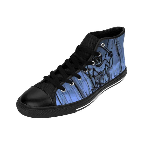 "TSoaGA - Cythia - ""Into the Abyss"" - Ladies High-top Sneakers"