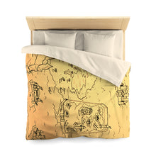 Load image into Gallery viewer, TCoE - Trindavin Map - Microfiber Duvet Cover