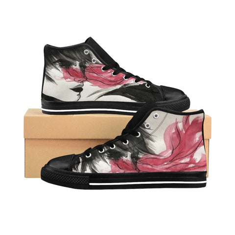 "Torrick - ""wishful thinking"" - Ladies High-top Sneakers"