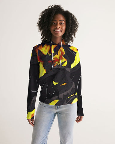 "Dragon Torrick - ""Flame"" -  Ladies Hoodie"
