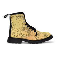 Load image into Gallery viewer, TCoE - Trindavin Map - Ladies Canvas Boots
