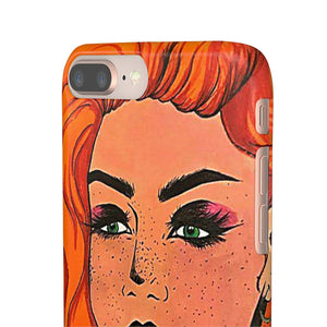 "Cythia - ""Fire"" - Snap Phone Cases"