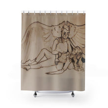 "Load image into Gallery viewer, TCoE - ""Live and Let Die"" - Shower Curtains"