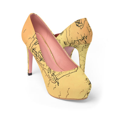 TCoE - Trindavin Map - Ladies Platform Heels