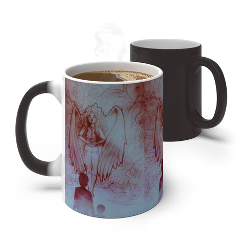 "TSoaGA -""Dark Angel Cythia ~ The Mist 2"" - Color Changing Mug"