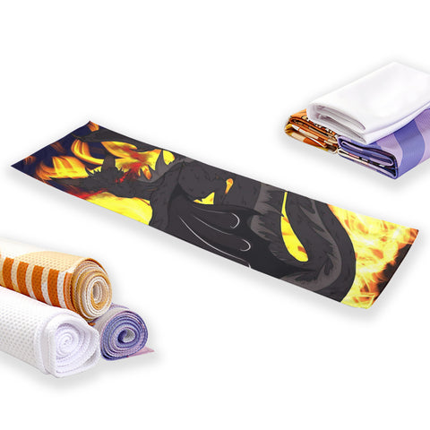 "Dragon Torrick - ""Flame"" - Cooling Sports Towel"