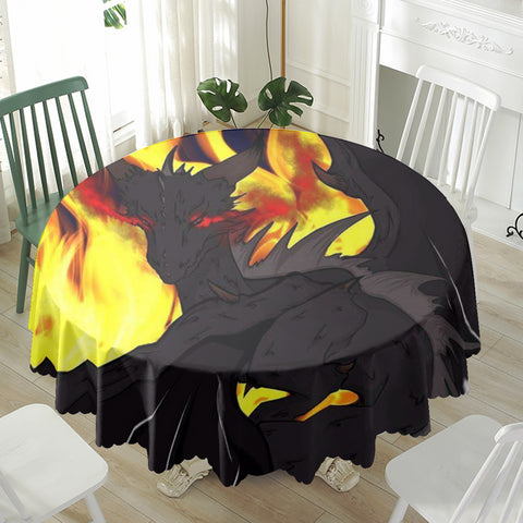 "Dragon Torrick - ""Flame"" - Waterproof tablecloth 