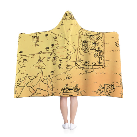 TCoE - Trindavin Map - Hooded Blanket