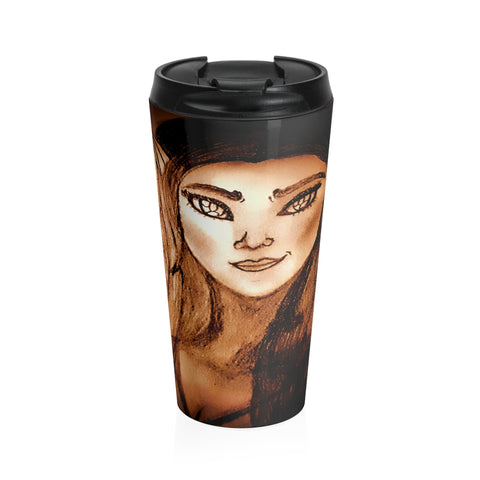 Wistria - Stainless Steel Travel Mug