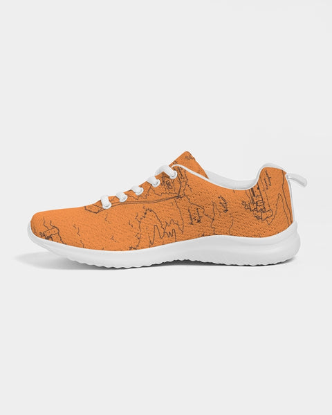 TCoE - Trindavin Map 'parchment' - Ladies Athletic Shoe