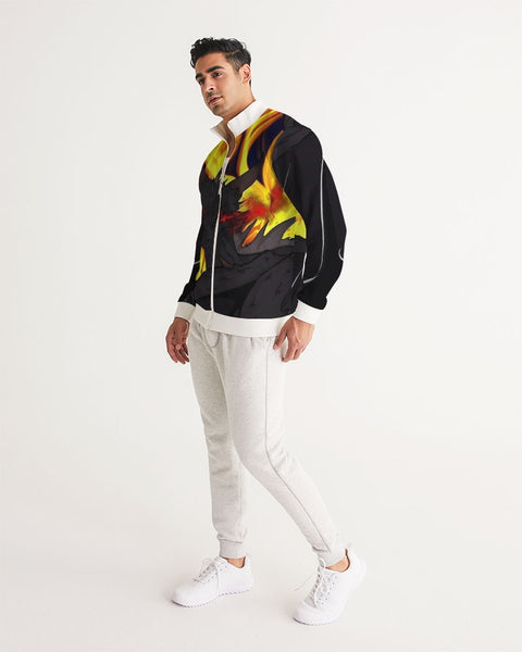 "Dragon Torrick - ""Flame"" -  Men's Track Jacket"