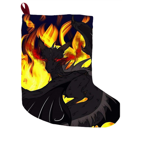 "Dragon Torrick - ""Flame"" - Christmas Stockings"