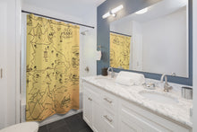 Load image into Gallery viewer, TCoE - Trindavin Map - West - Shower Curtains