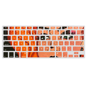 "Cythia - ""Fire"" - Dust-proof Keyboard Cover for Macbook 13.3"" Protector Sticker Film"