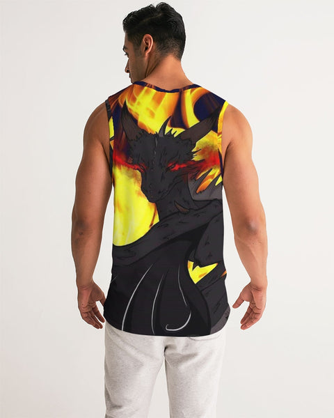 Dragon Torrick - Flame - Men's Sports Tank