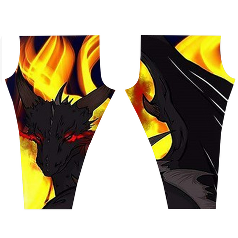 "Dragon Torrick - ""Flame"" - Leggings 2"