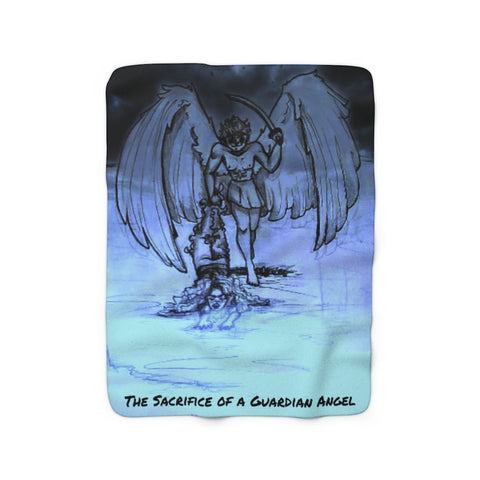 "TSoaGa - Cythia - ""Into the Abyss"" - Sherpa Fleece Blanket"